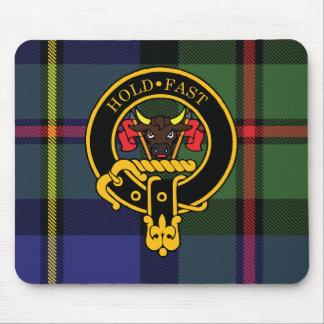 Mousepad Crista de Macleod e tapete do rato escoceses do