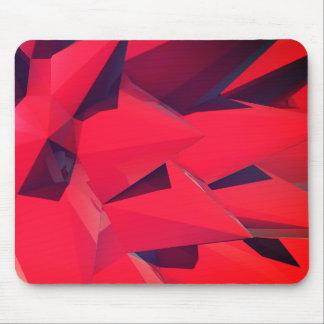 Mousepad Cristal - Lotus vermelho II
