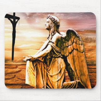 Mousepad Cruz e anjo