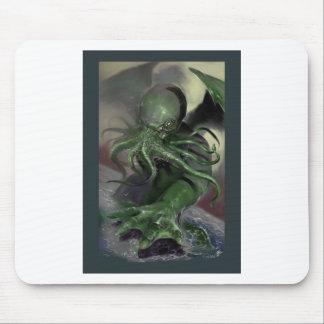 Mousepad Cthulhu cavalo-força de aumentação Lovecraft