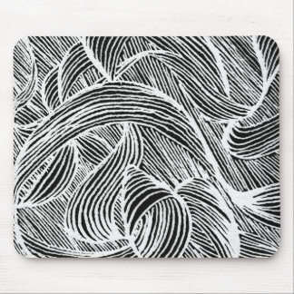 Mousepad curly lines