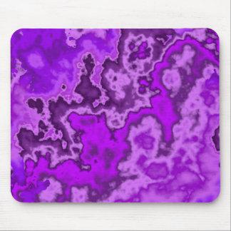 Mousepad curvado roxo do design