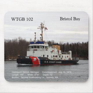 Mousepad da baía de WTGB 102 Bristol