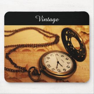 Mousepad da fotografia do relógio de bolso do