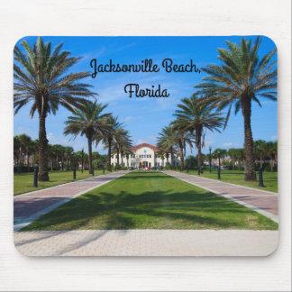 Mousepad da lembrança da praia de Jacksonville,