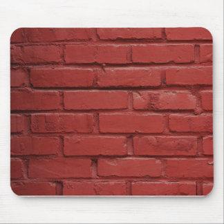 mousepad da parede de tijolo