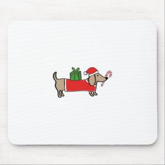 Mousepad Dachshund do Natal