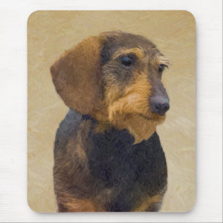 Mousepad Dachshund (Wirehaired)