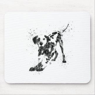 Mousepad Dalmatian, cão Dalmatian, Dalmatian da aguarela