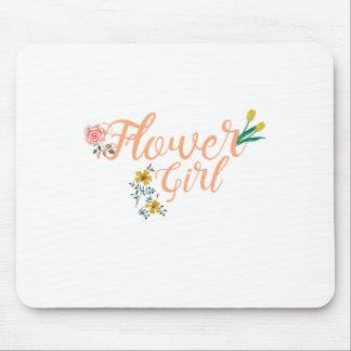 Mousepad Dama de honra bonito do florista