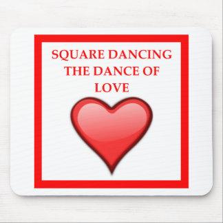 Mousepad dança quadrada