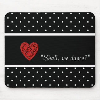 MOUSEPAD DANÇA--ROMANCE_RED-HEART_TEMPLATE-VINTAGE-STYLISH