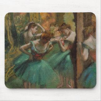 Mousepad Dançarinos dos trabalhos de arte do balé