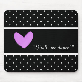 MOUSEPAD DANCE-LOVE-ROMANCE-TEMPLATE-VINTAGE-STYLISH