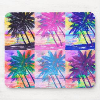 Mousepad das palmas da Segredo-Ilha