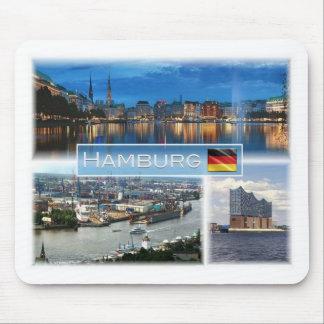 Mousepad DE Alemanha - Hamburgo - Binnenalster - porto