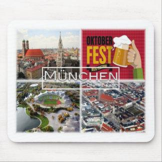 Mousepad DE Alemanha - Munich München -
