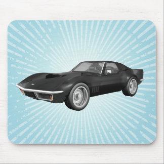 Mousepad De Corveta carro 1970 de esportes: Revestimento
