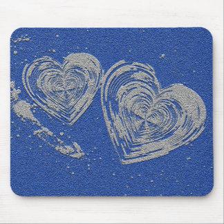 Mousepad de dois corações