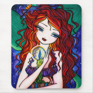 """Mousepad De """"fada da fantasia da sereia dos tesouros"""