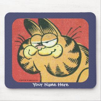 Mousepad de Garfield do vintage