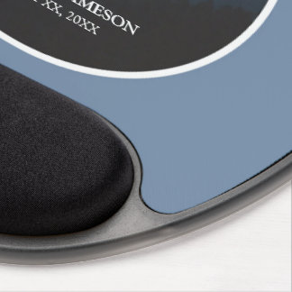 Mousepad De Gel 50th Aniversário de parabéns da classificação