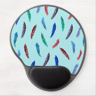 Mousepad De Gel A aguarela empluma-se o gel Mousepad