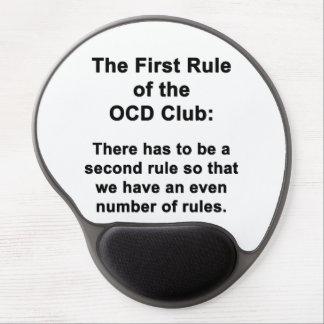 Mousepad De Gel A primeira regra do clube de OCD