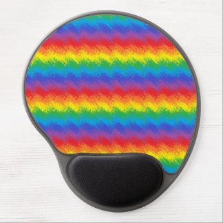 Mousepad De Gel Agitando o arco-íris