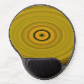 Mousepad De Gel Amarelo do olho do dragão