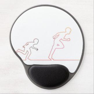 Mousepad De Gel Ambição da infância do menino e perseguição de