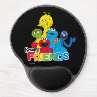 Mousepad De Gel Amigos do sésamo do Sesame Street |