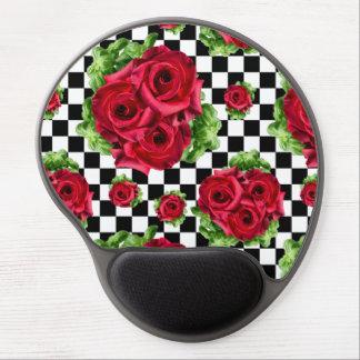 Mousepad De Gel Amor floral do buquê das rosas vermelhas