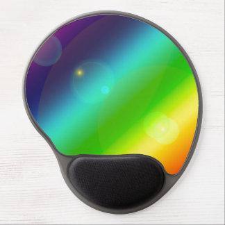 Mousepad De Gel Arco-íris borbulhante