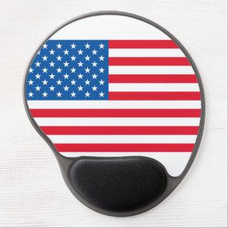 Mousepad De Gel Bandeira dos Estados Unidos da bandeira dos EUA