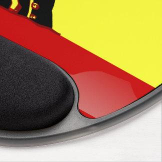 Mousepad De Gel Bandeira lustrosa espanhola