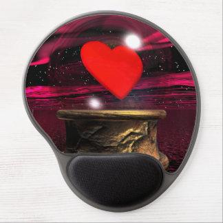 Mousepad De Gel Bola de cristal para o amor - 3D rendem