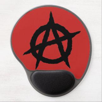 Mousepad De Gel Caos do sinal da cultura da música do punk do