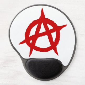 Mousepad De Gel Caos vermelho p do sinal da cultura da música do