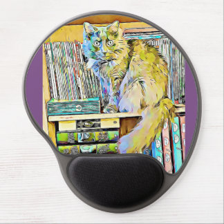 Mousepad De Gel Catshelves