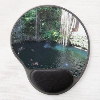 Mousepad De Gel Cenote azul sagrado, Ik Kil, gel Mousepad de