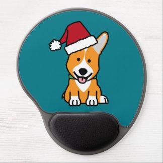 Mousepad De Gel Chapéu do papai noel do Natal de Galês do Pembroke