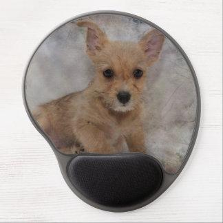 Mousepad De Gel Chihuahua/filhote de cachorro de Yorkie