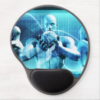 Mousepad De Gel Conceito global da conferência como um fundo