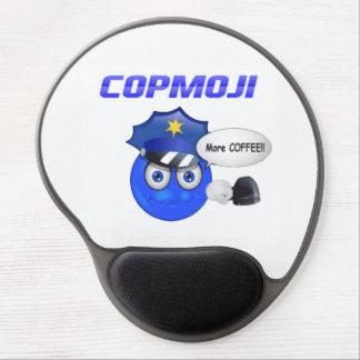 Mousepad De Gel CopMoji - mais tapete do rato do café