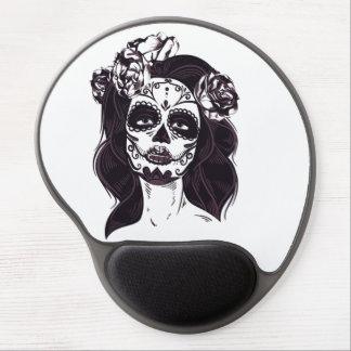 Mousepad De Gel Crânio da máscara