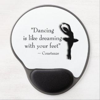 Mousepad De Gel Dança inspirador