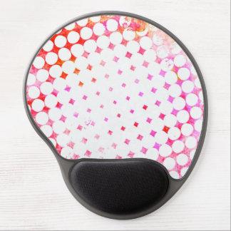 Mousepad De Gel Design de explosão cor-de-rosa da banda desenhada