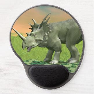 Mousepad De Gel Dinossauro do Styracosaurus - 3D rendem