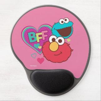 Mousepad De Gel Elmo & monstro do biscoito - BFF
